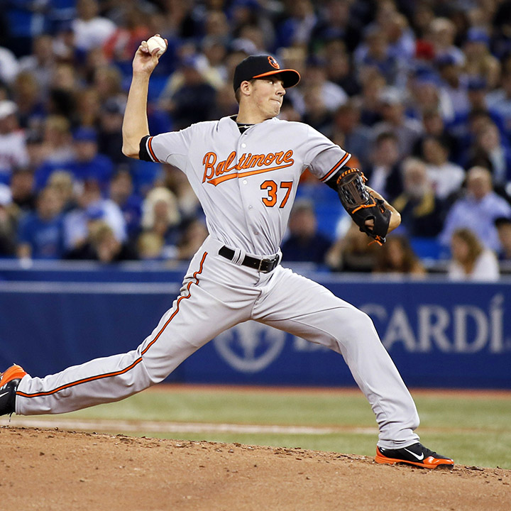 KEVIN GAUSMAN    MLB Pitcher Baltimore Orioles