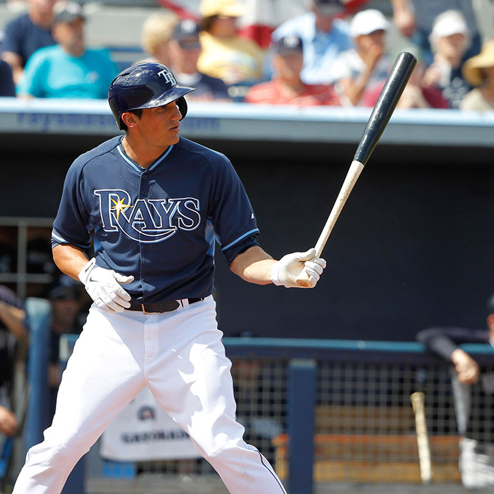 MIKIE MAHTOOK    MLB Outfielder    Tampa Bay Rays
