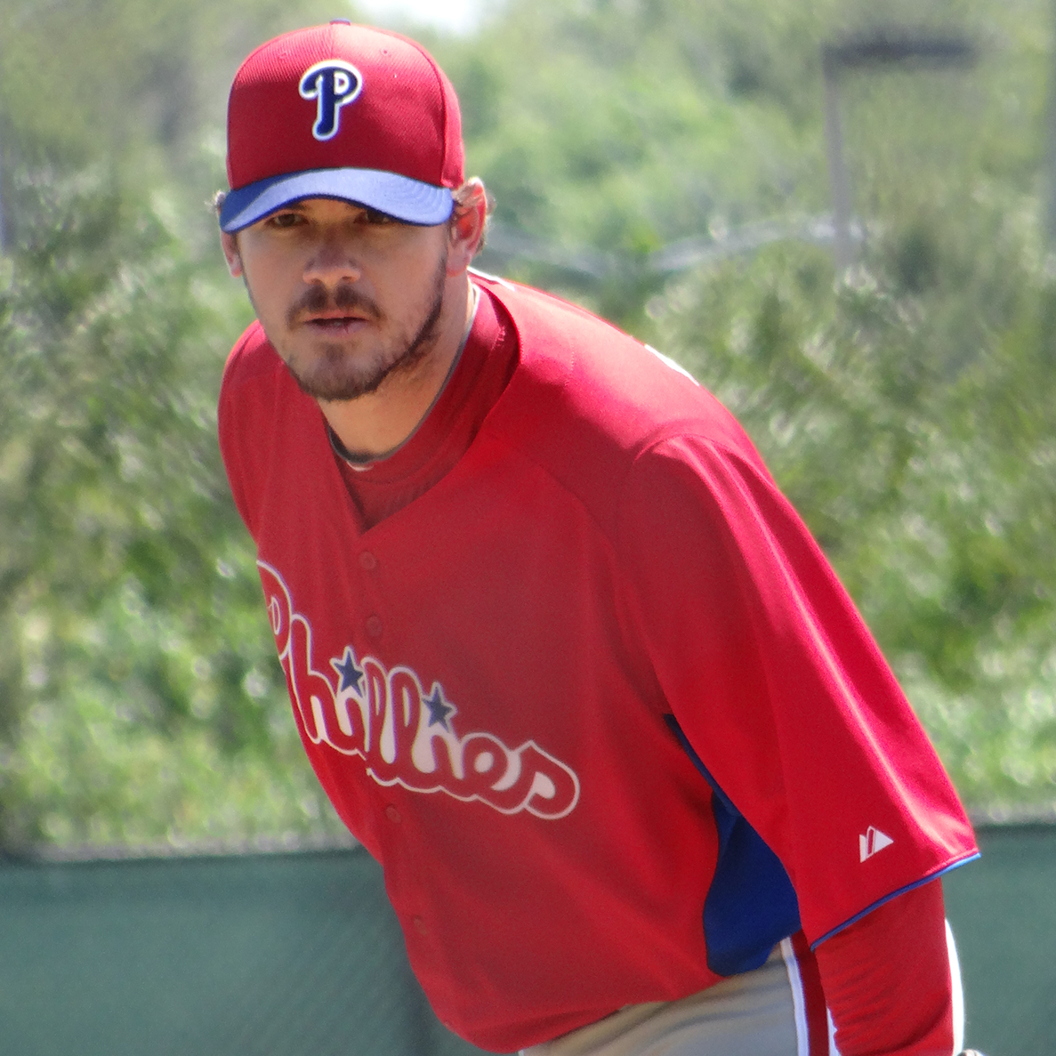 CHAD DURBIN    MLB Pitcher   Philadelphia Phillies