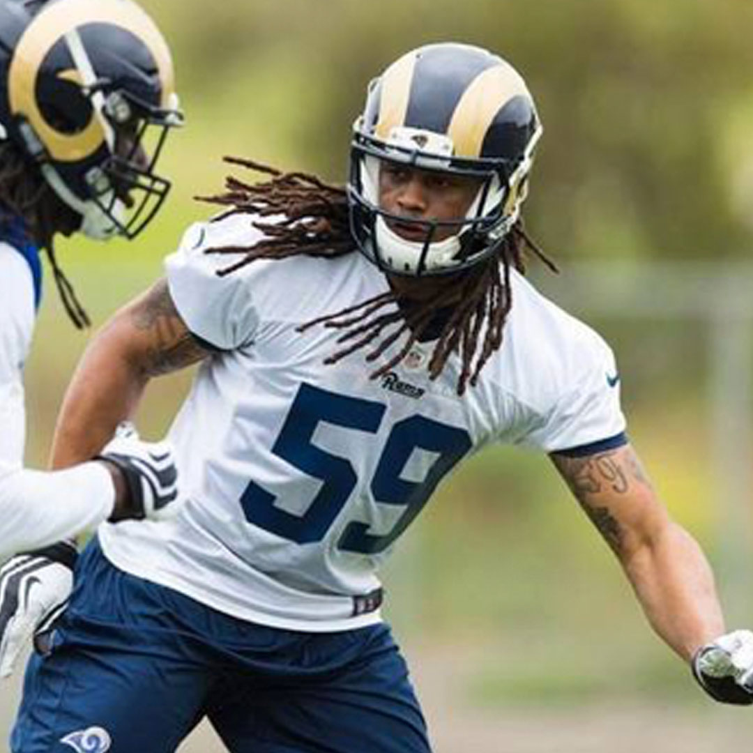 JOSH FORREST    NFL Linebacker    Los Angeles Rams