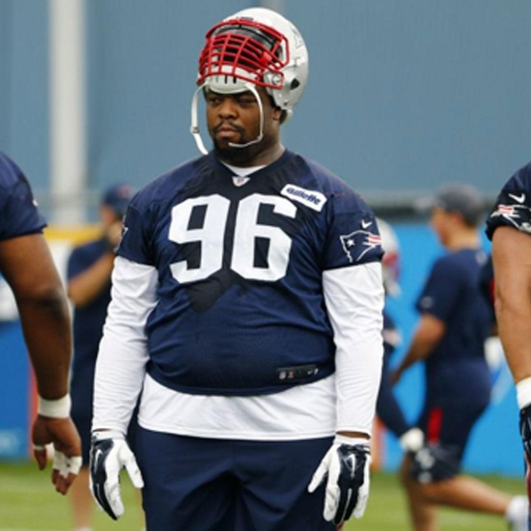 VINCENT VALENTINE    NFL Defensive Tackle   New England Patriots
