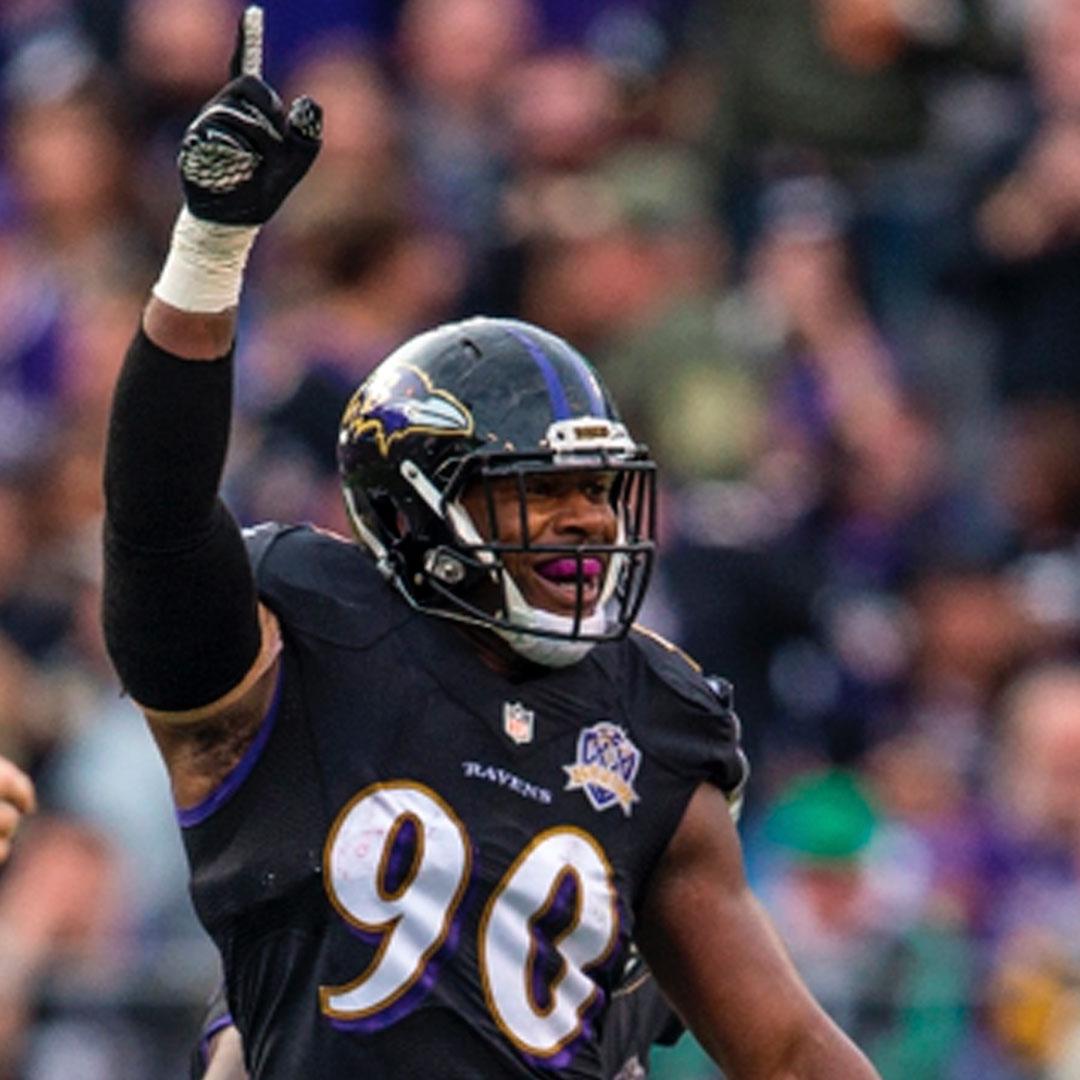 ZA'DARIUS SMITH    NFL Linebacker   Baltimore Ravens