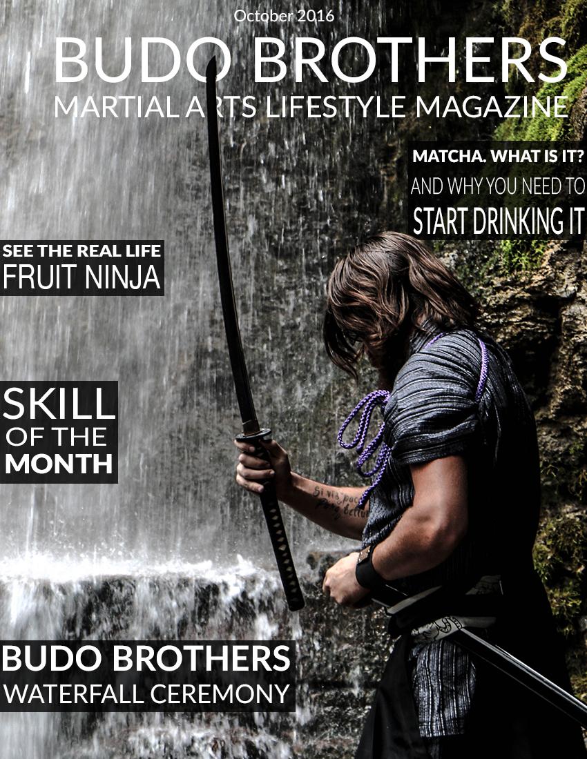 Budo Brothers Martial Arts Lifestle Magazine October 2016 (1).jpg