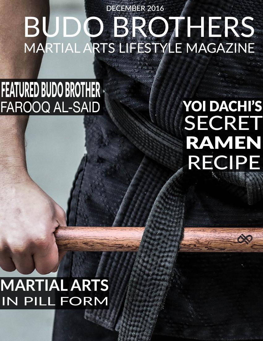 Budo Brothers Martial Arts Lifestle Magazine December 2016.jpg