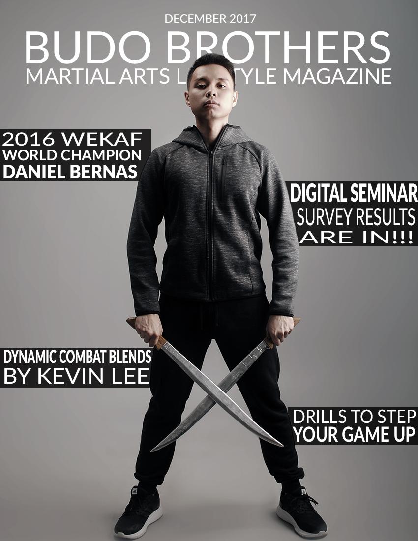 Budo Brothers Martial Arts Lifestle Magazine December 2017-2.jpg