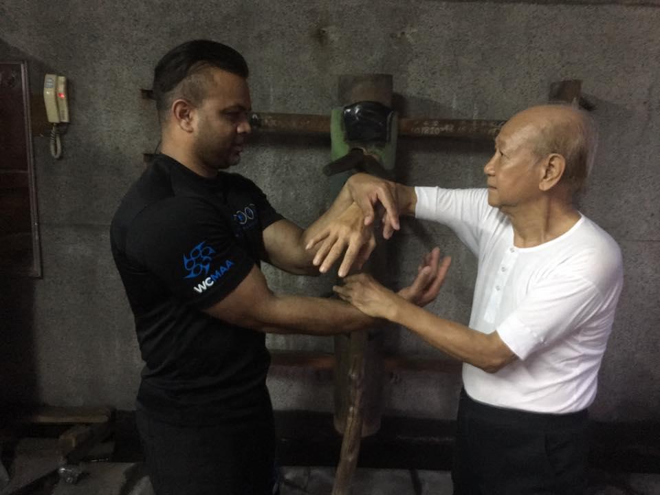 Picture of: Sifu Marvin Ishmael and Sifu Lo Man Kam