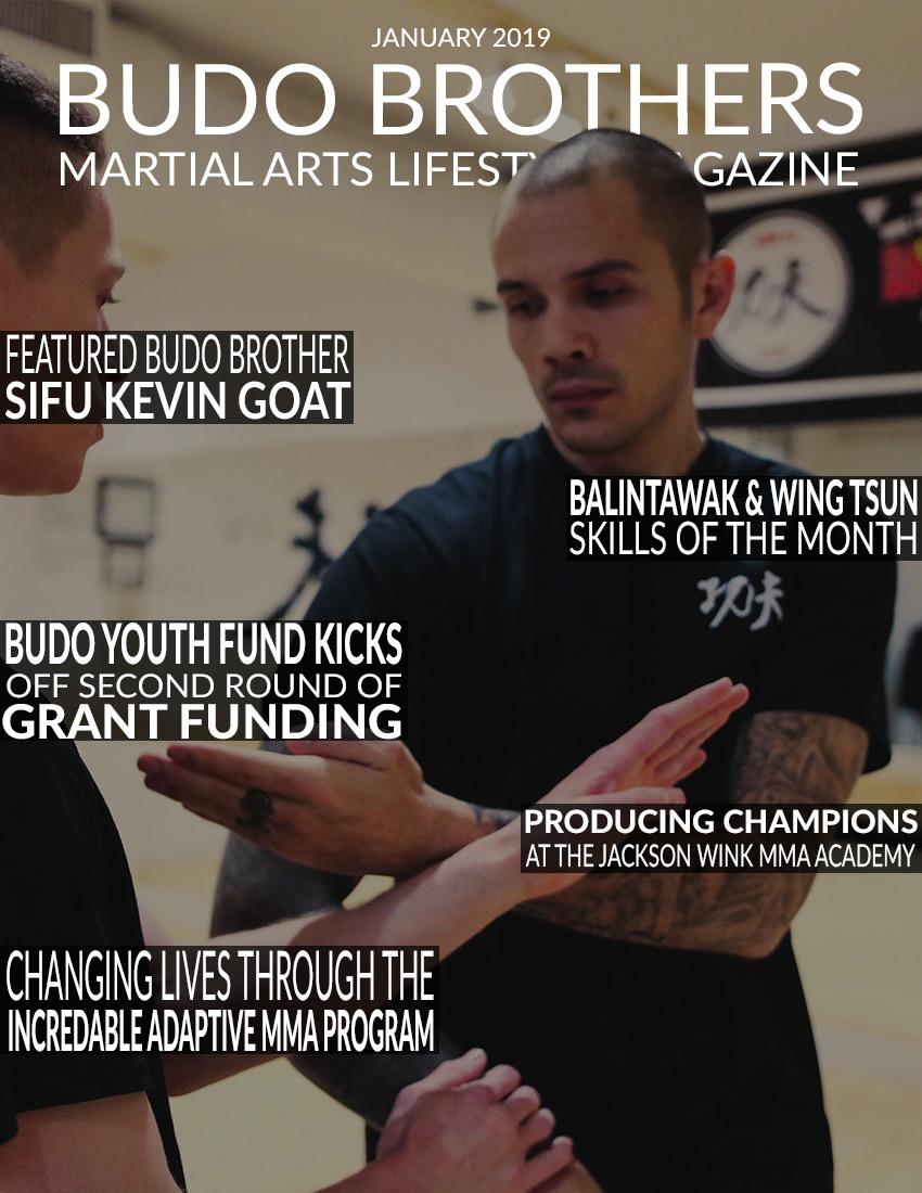 Budo Brothers Martial Arts Lifestle Magazine January 2019.jpeg