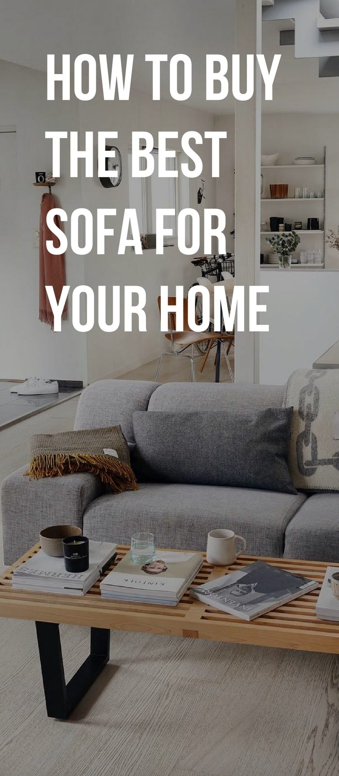 How to buy a sofa for your home