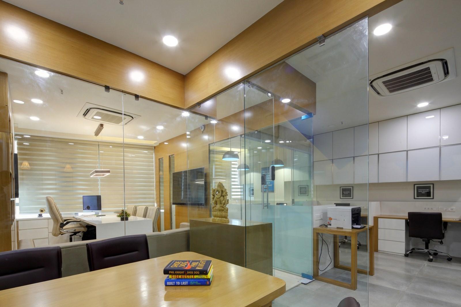 Fundsguru office interior design