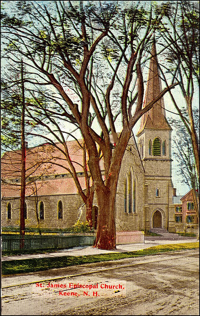 postcard st james episcopal