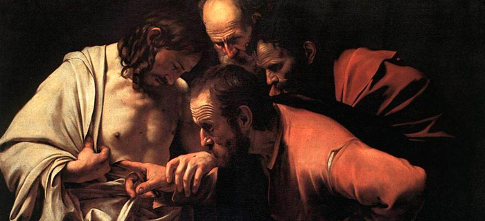 Carravagio - The Incredulity of St. Thomas