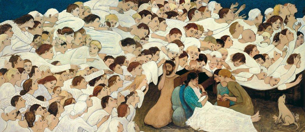 """""""Nativity"""" by Brian Kershisnik"""