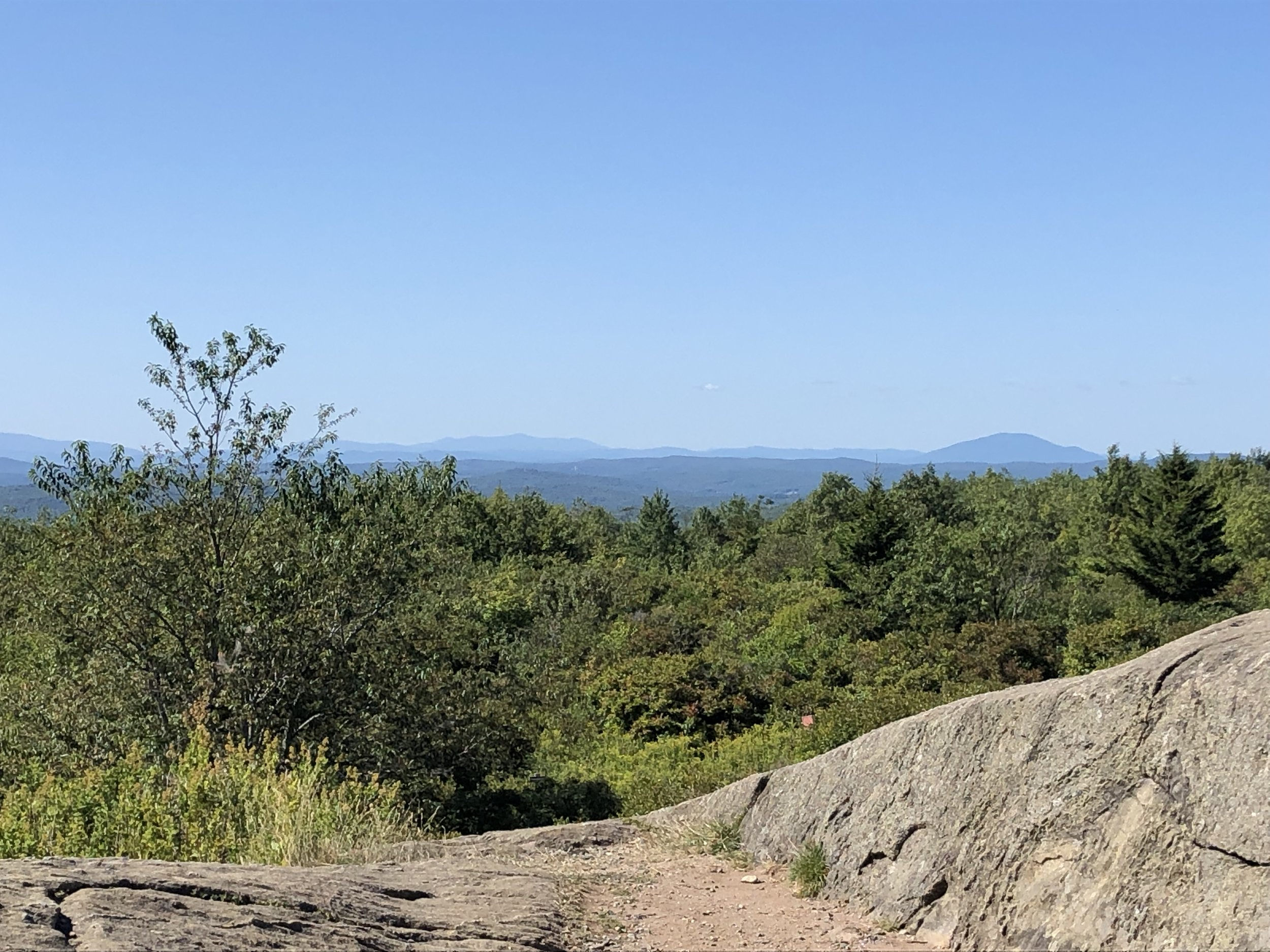 Mount Sunapee to the right in the distance.