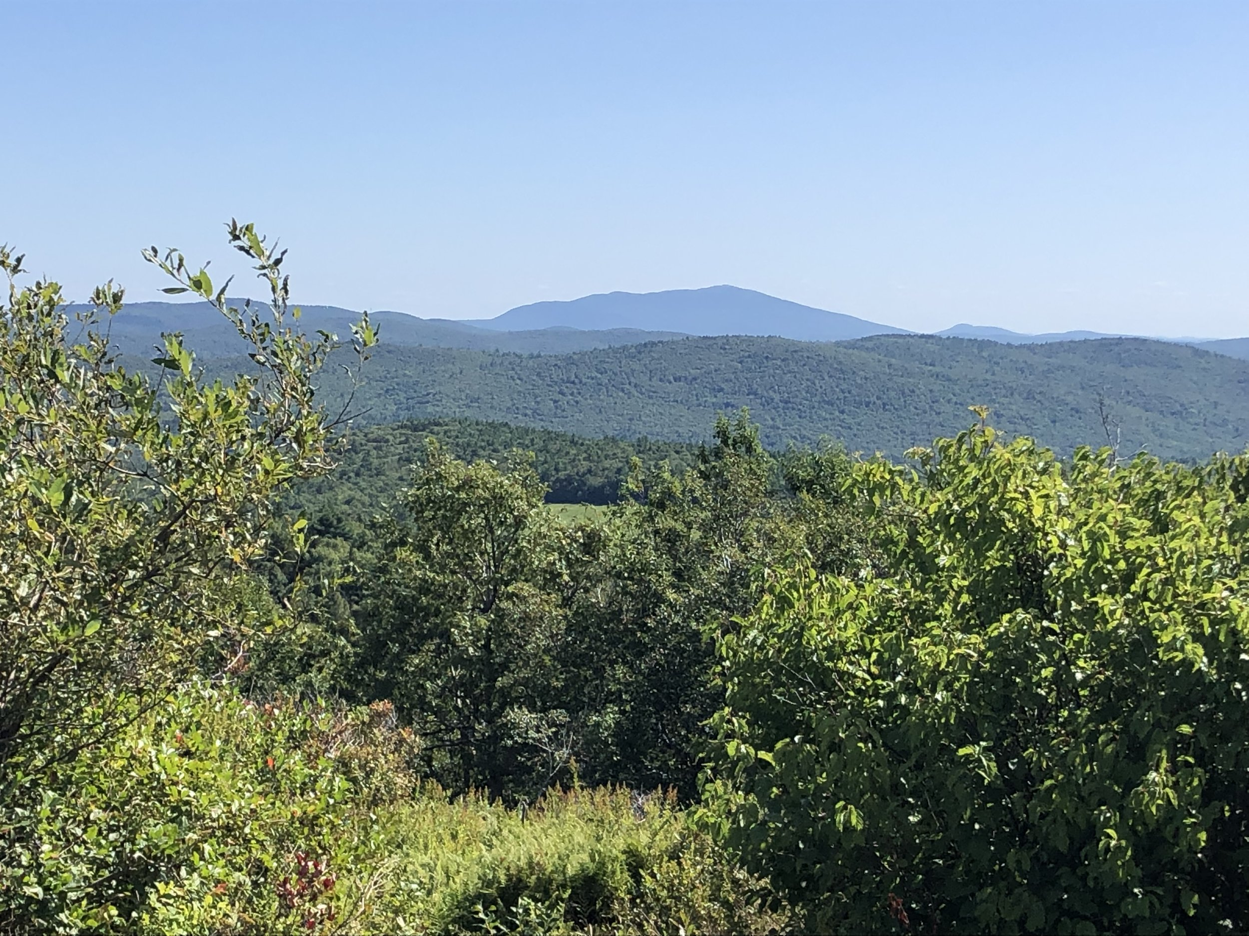 Mount Monadnock to the south