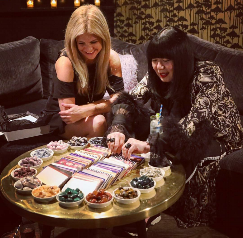CrystalRX + Tarot Card Readings at the Anna Sui x PB Teen event