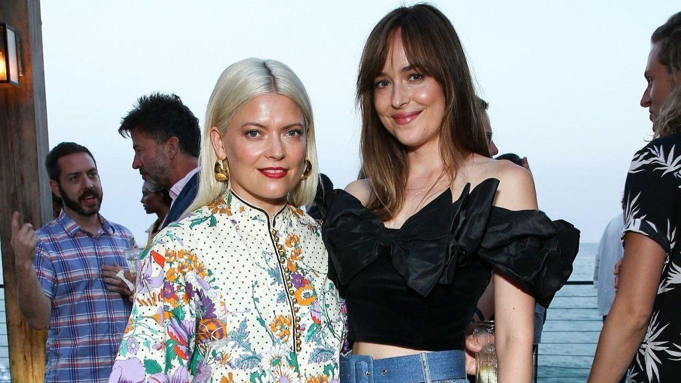 Dakota Johnson, Nina Dobrev party with Kate Young, Maison St-Germain Guests in Malibu -