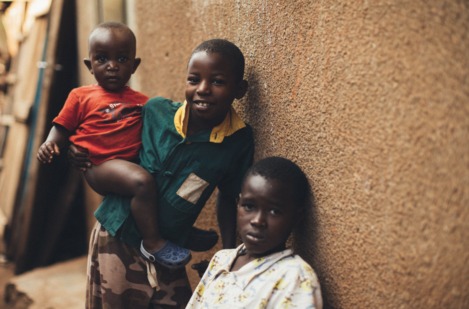LOCATE THOSE IN NEED. - Our on the ground team, in Uganda, locate children in high-poverty and high-risk areas where children are unable to attend school + afford an education.
