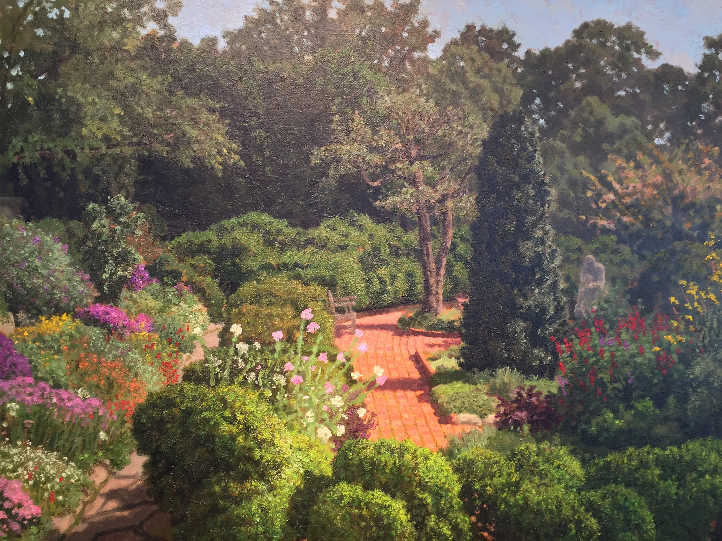 Bishops Garden Sunday Morning