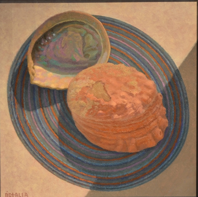 Two Abalone Shells