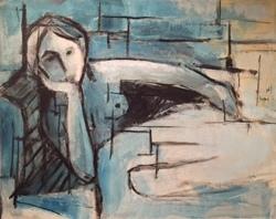Woman Reclined in Blue.JPG