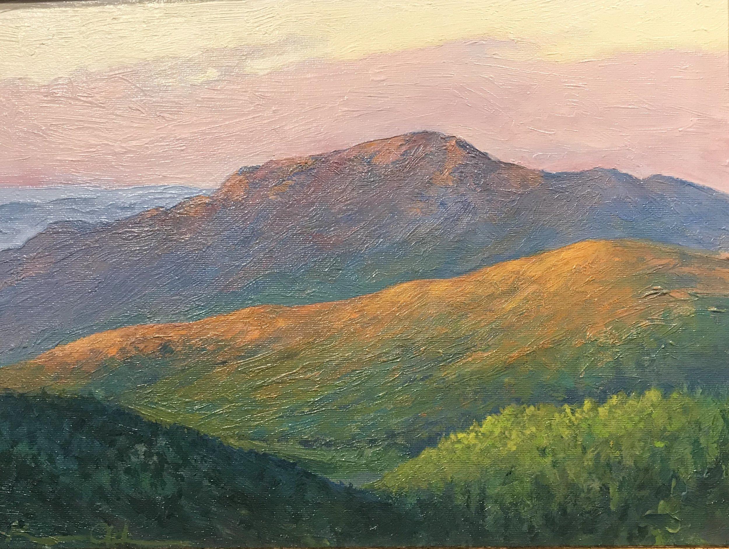 Old Rag in Morning Light 0oil on panel 9x12.jpg