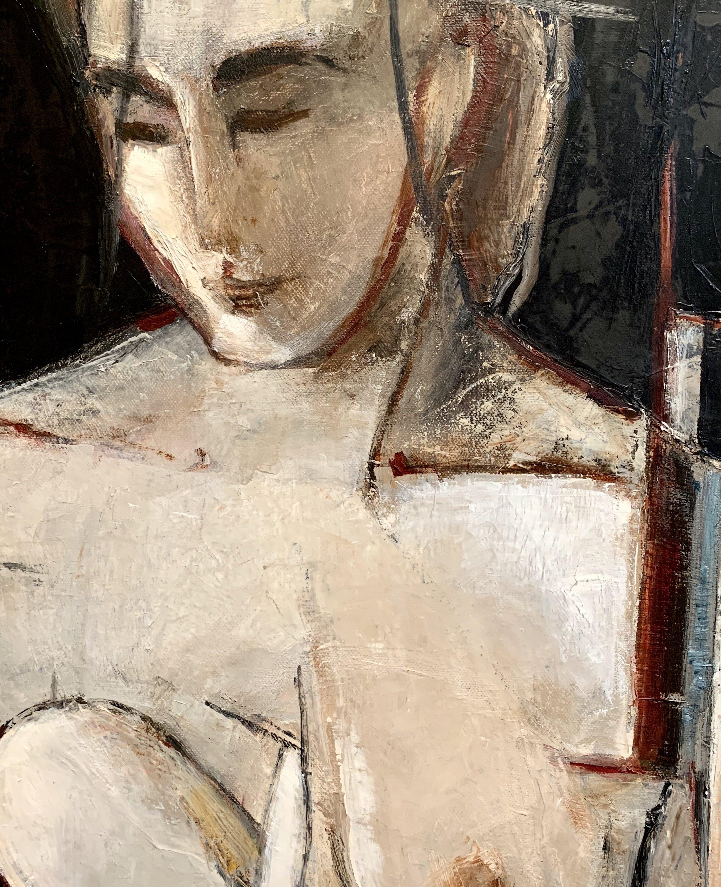 Woman ll (detail)