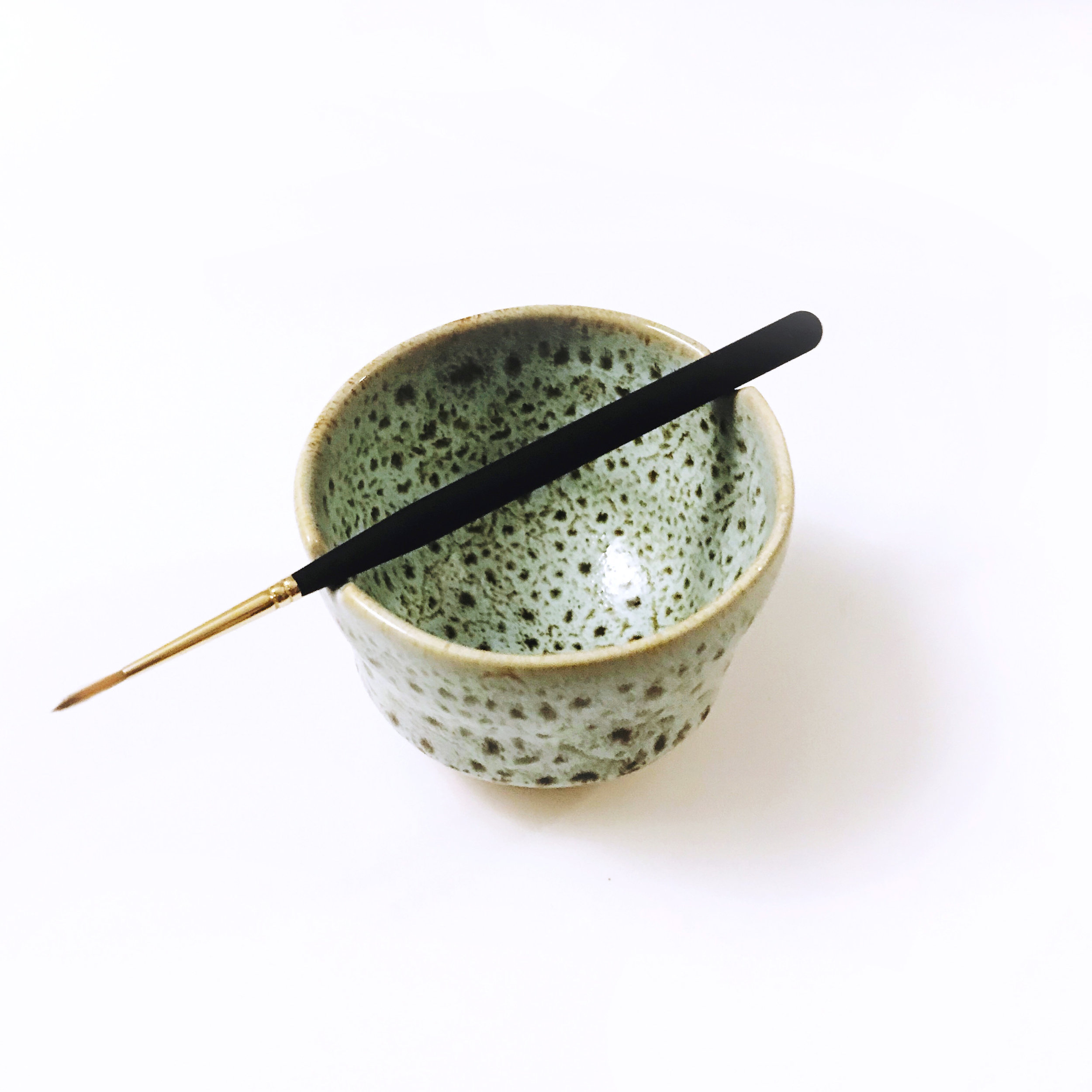 CERAMIC WATERCOLOR BOWL Sold Out