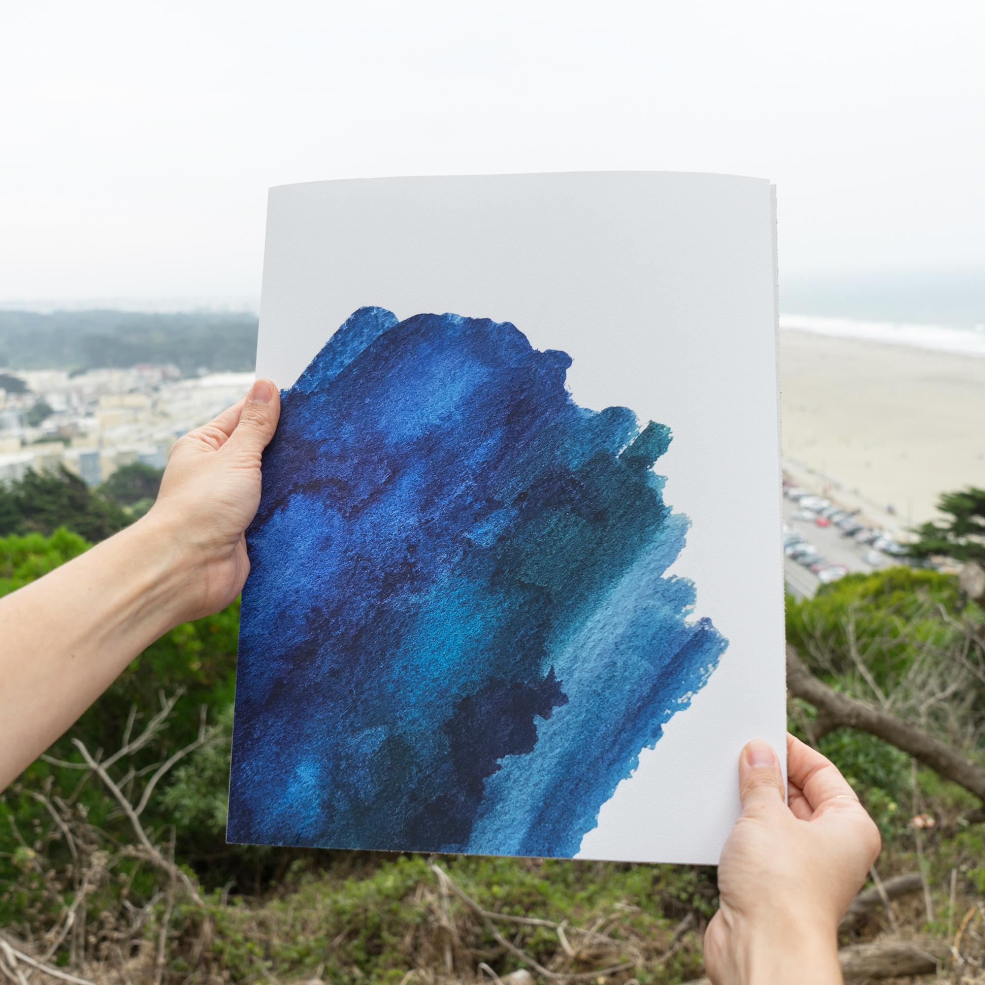 OCEAN I PRINT (11x14) $30