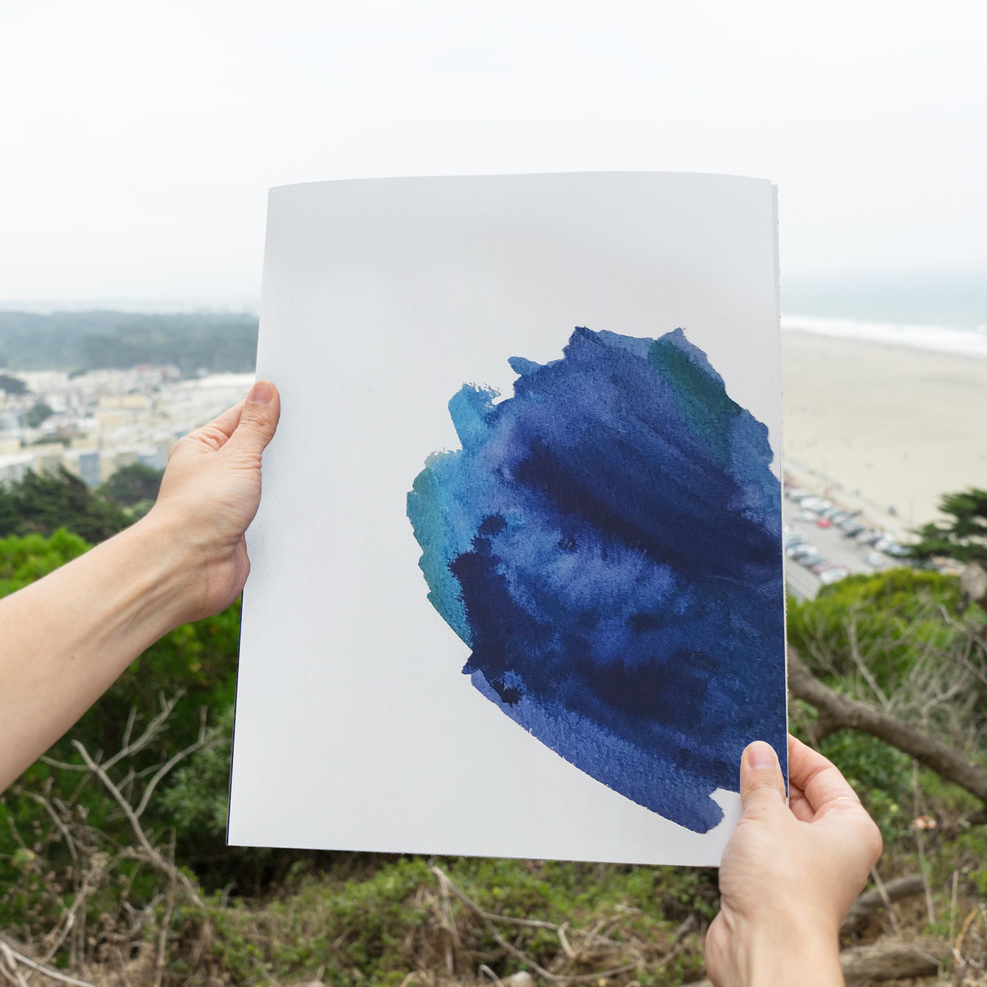 OCEAN II PRINT (11x14) $30