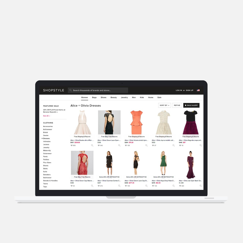 ShopStyle.com design