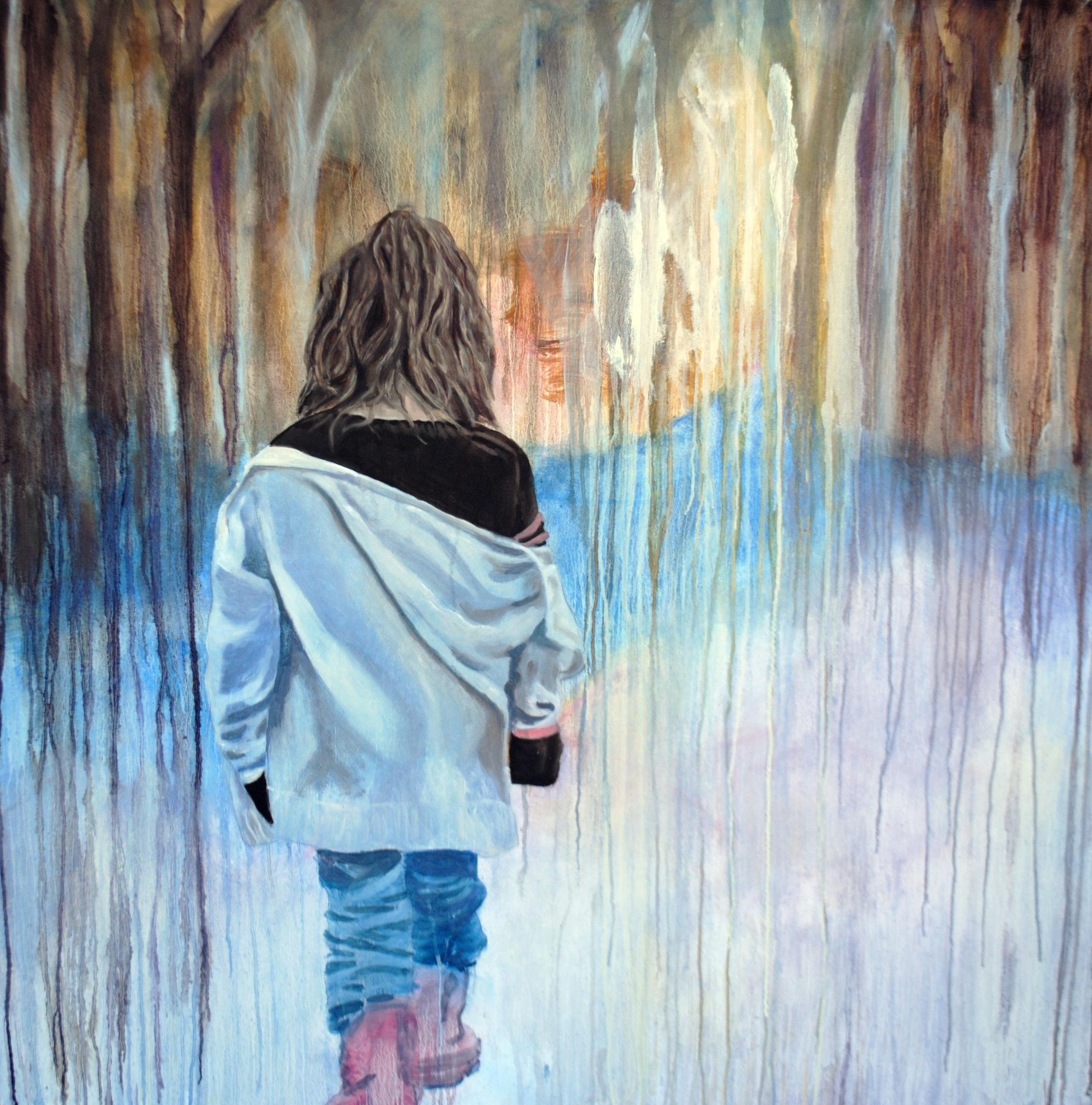 Childhood Dreams 48x48 Oil On Wood Available