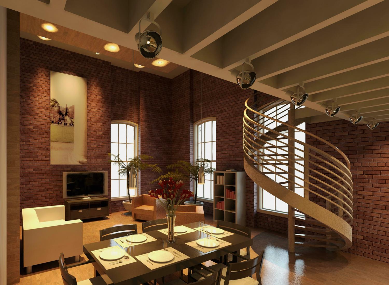 Downtown Loft - Great Room