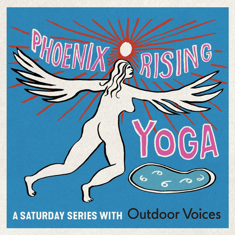 A Saturday Yoga Series with  Outdoor Voices  from 11am-12pm at the Phoenix Hotel. Tickets are $20 and include pool use until 3pm and a 15% discount on brunch at  Chambers eat + drink . Don't forget to bring your own mat! Grab your tickets through the Ticket UR