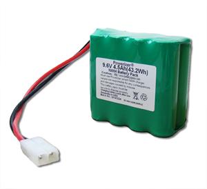 Optional 9.6 Volt @4500mAh Ni-MH Battery Pack