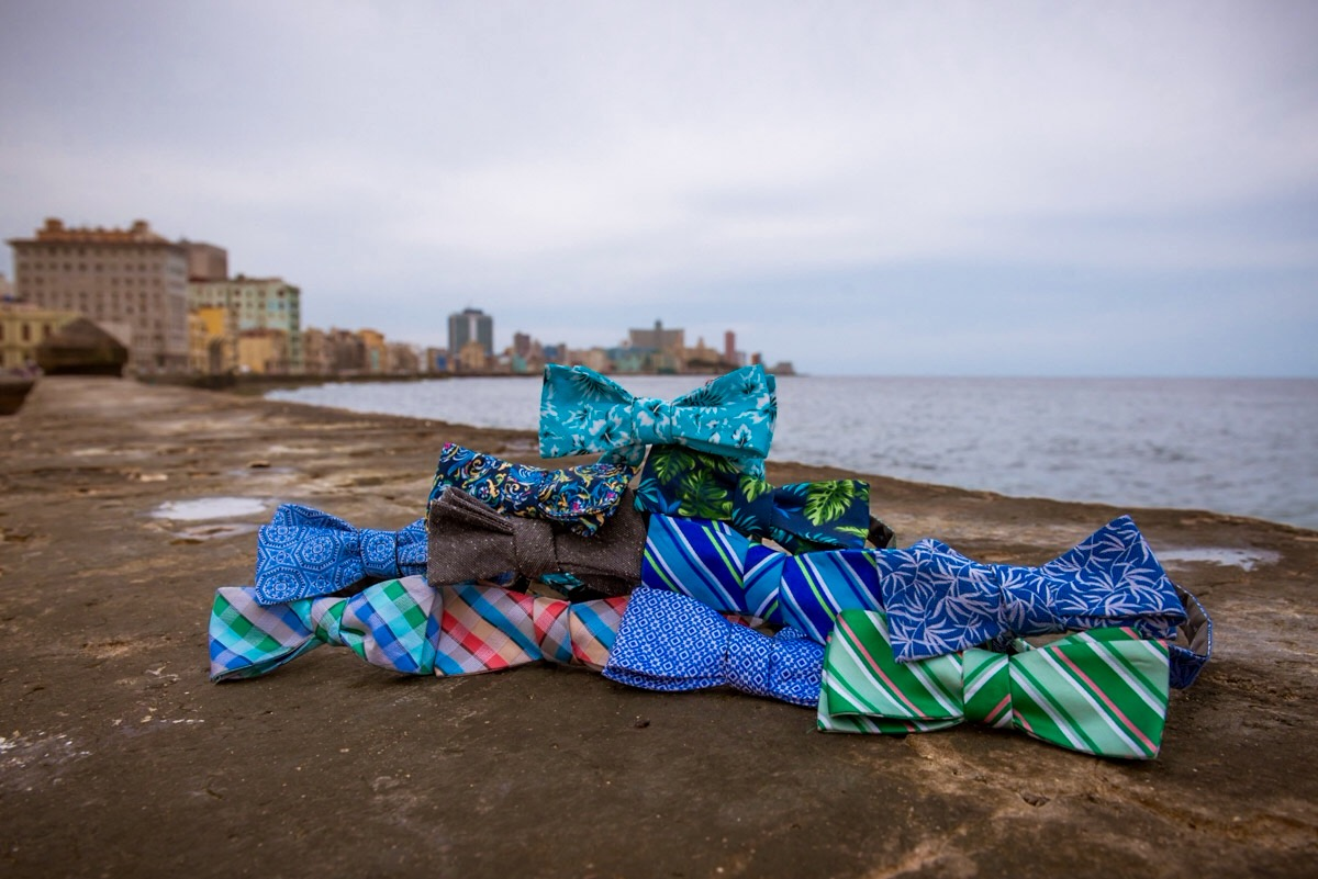 Tie The Knot launches collection inspired by Cuba in support of LGBTQ equality worldwide.