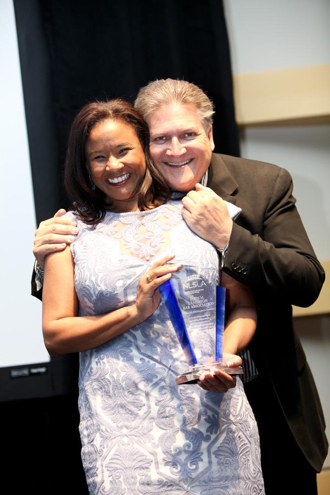Kimberly Willis, President of Langston Bar, CA Sen. Robert Hertzberg