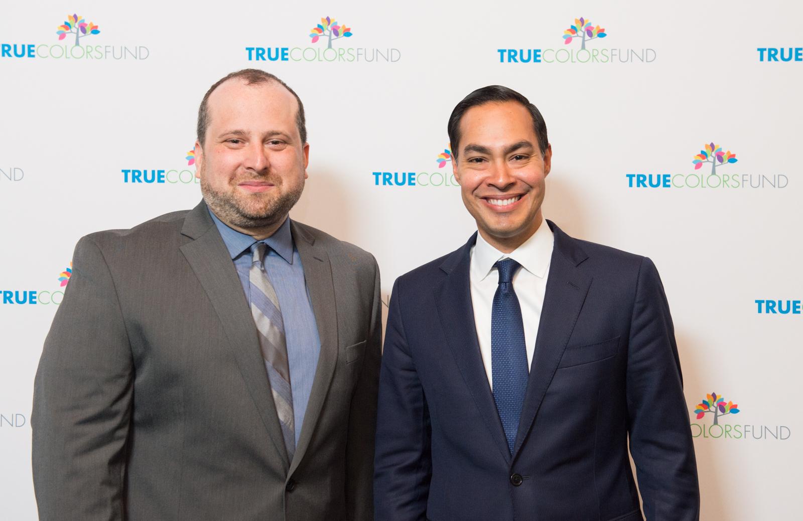 True Colors Fund Executive Director Gregory Lewis, Julian Castro