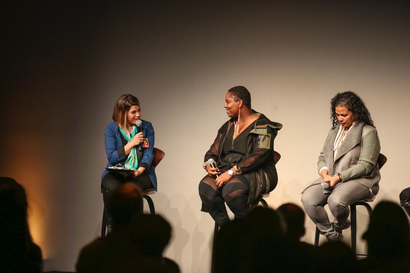 America Ferrera, Patrisse Khan-Cullors (Black Lives Matter), Melina Abdullah (BLM)