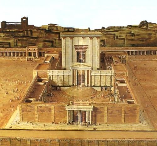 Solomon's Temple, King Herod's Reconstruction