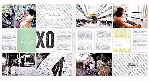 Laurel Lane Designs Project Life Layout by Steffie