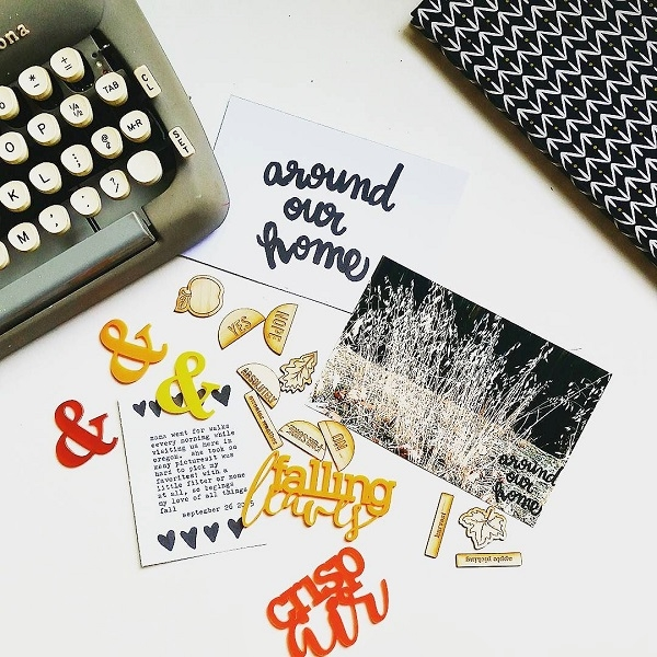 Laurel Lane Designs Journaling Card Photo by Kim