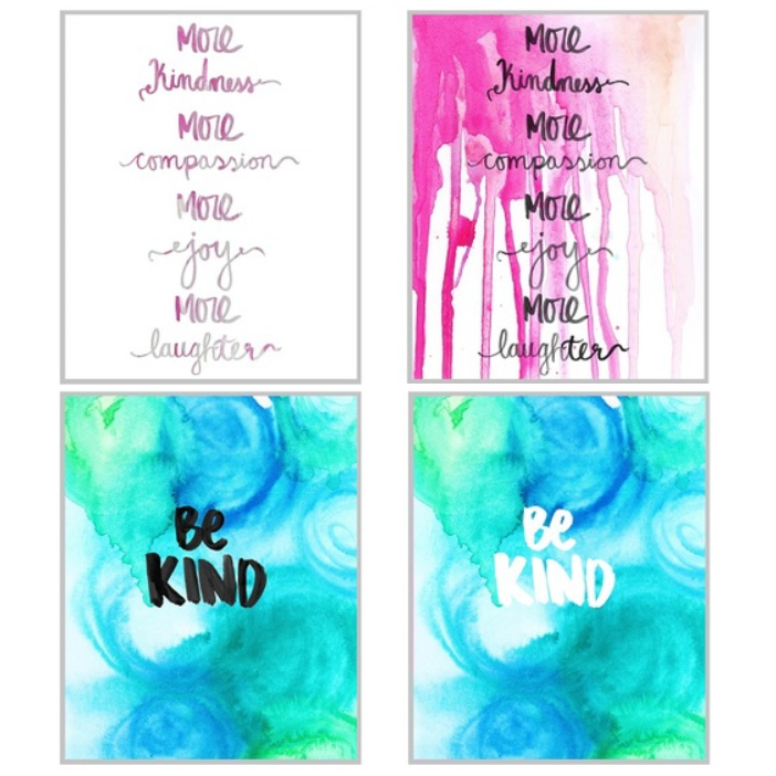 Free 8x10 Kindness Quote Wall Art Printables by Olya Schmidt and Laura Rahel Crosby.png