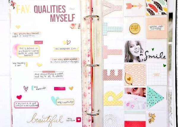 Learn How to Make a Scrapbook About You