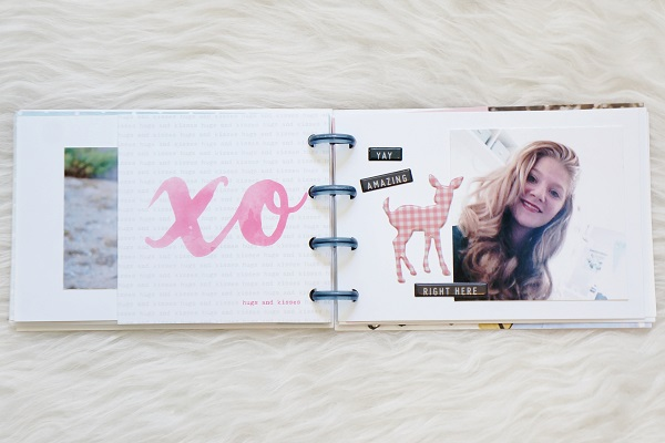 Sisters Mini Album Using Happy Planner Discs
