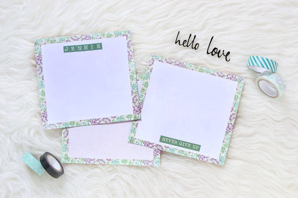 Diy Washi Tape Stationery