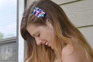 Diy Gemstone Hair Clip