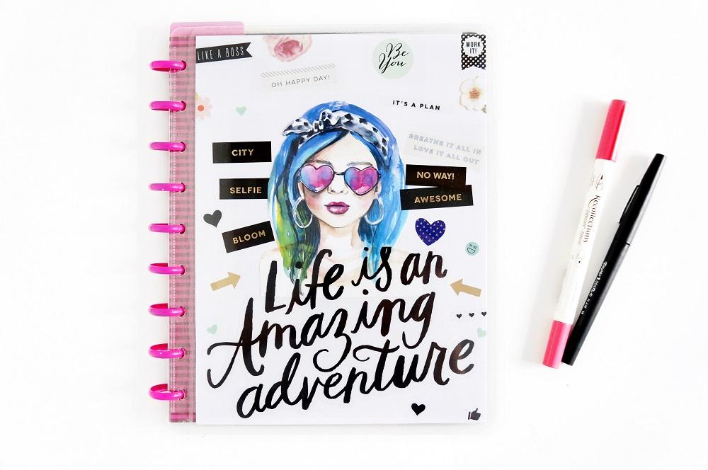 DIY Happy Planner Cover