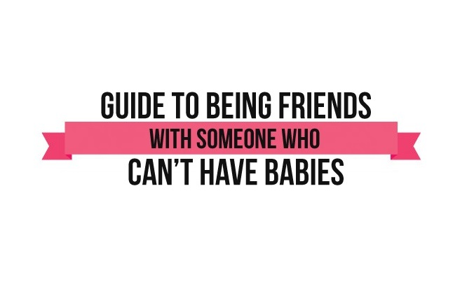Friends with Infertility - If you've ever known anybody who struggles with infertility or having miscarriages, you've probably experienced the emotional minefield you have to sometimes navigate to have a relationship with them. Here's how to be a good friend to them...
