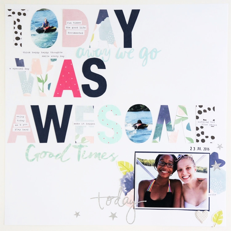 100 Days of Scrapbooking Days 1-10