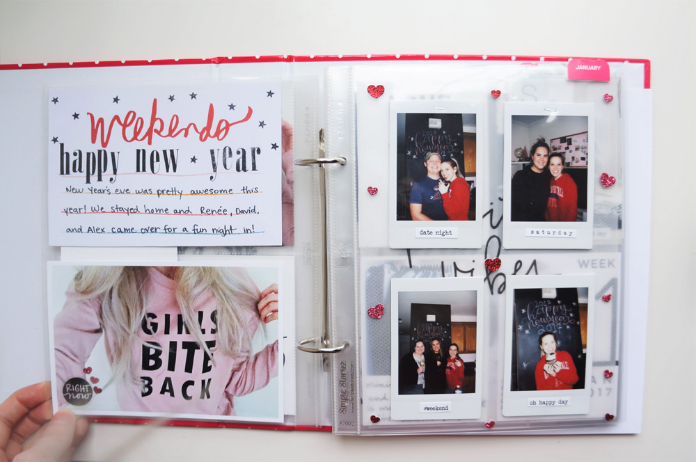 2017 Project Life Set Up and Flip through of January in a 6x8 PL album (5).jpg